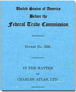 Cover Of The FTC Report